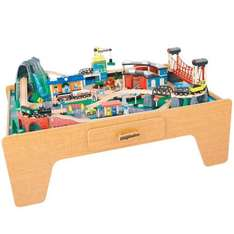 Mountain rock toy train table and lego mini figure bag for £82.48 delivered using code for £20 off £100 spend plus lots more@Toys R us