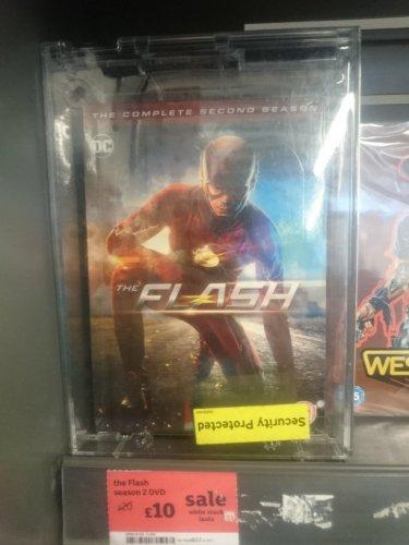 The Flash season 2 DVD £10 @sainsburys instore Hertford