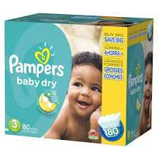 Pampers baby dry sz 3 - 150 nappies for £9.80 or £12.80 at Waitrose (see description for PYO info and vouchers)