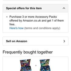 Lego dimensions 3 for 2 at amazon (from £8.54)