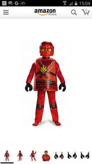 Lego Ninjago & Nexo Knight costumes from £18.57 with code @ amazon - Finishes today! (add £4.75 non Prime)
