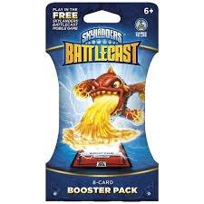 Skylander Battlecast Booster pack 0.39p @ Sainsbury's