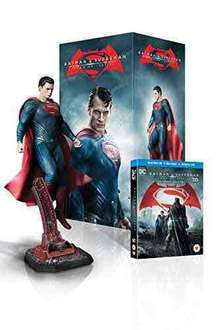 Batman v Superman: Dawn of Justice - Superman Statue Ultimate Edition (Limited Edition - Exclusive to Amazon.co.uk) [Blu-ray 3D + Blu-ray] @ Amazon (lightning deal)