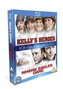 Kelly's Heroes/ Where Eagles Dare Blu-Ray Double Pack £5.99 @ EntertainmentStore/Ebay