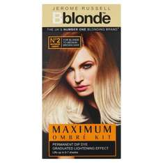 Jerome Russell Bblonde Maximum Ombre Kit #1/#2 £1.99 at Home Bargains