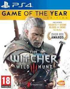 the witcher 3 wild hunt GOTY edition ps4/xbox one £23.39 @ zavii with unidays code
