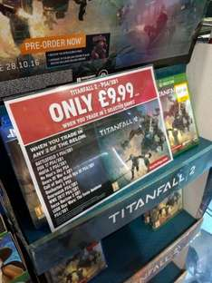 Titanfall 2 PS4/XB1 only £9.99 when you trade in any 2 selected games @ Smyths