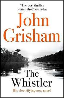 The Whistler by John Grisham Hardback Book released 25/10/16 £7.99 (Prime) £10.98 (Non-Prime or free delivery with an order containing £10 of books) @ Amazon