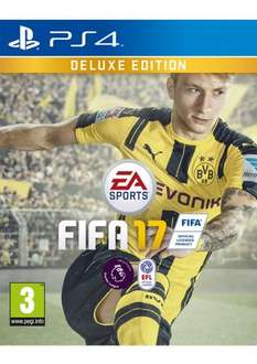 Fifa 17 Deluxe Edition (Both PS4 and Xbone) £39.85 @ Simply Games