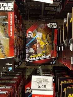 Star wars hero mashers single. £5.49 reduced from £10.99 @ Toys R Us