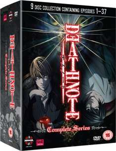 Death Note - The Complete Series DVD at Zavvi for £17.25