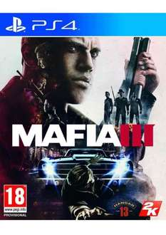 Mafia 3 with dlc (PS4/XBOX) at Simply Games for £34.85