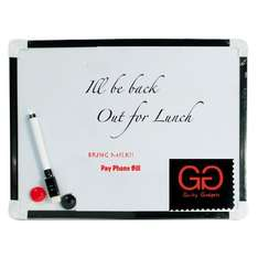 A4 Whiteboard With Pen + Magnets + Cloth £3.19 Sold by Guilty Gadgets and Fulfilled by Amazon.