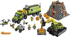 Lego City In/Out Volcano Exploration Base Set less than half price £38.24 @ Amazon
