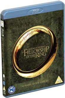New The Lord of the Rings: The Fellowship of the Ring - Extended Cut (bluray) @ Music Magpie (as new)