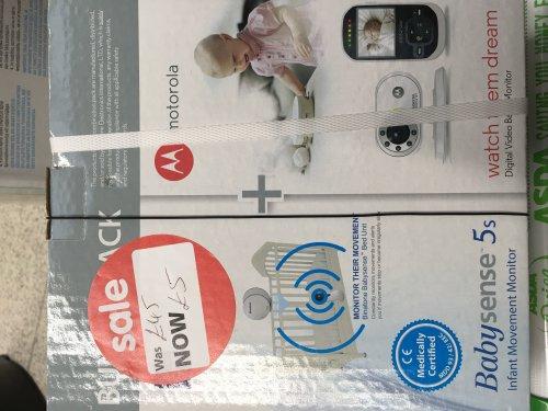 Asda Abbey Lane, Leicester - Motorola MBP26 Video Baby Monitor £5