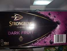 Strongbow Dark Fruit 10x440ml cans £8 @ Morrisons