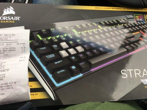 Corsair Strafe RGB keyboard (MX Silent) £59.99 @ Game instore