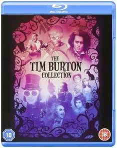 The Tim Burton Collection (Blu-Ray) £12.99 Delivered @ TheEntertainmentStore via eBay (8 Movies)