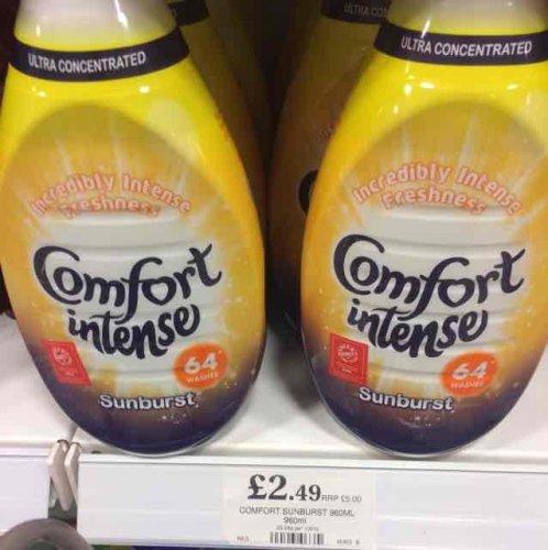 Comfort Intense 64 wash £2.49 @ Home Bargains