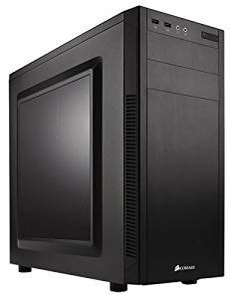 Corsair CC-9011075-WW Carbide Series 100R Windowed Mid-Tower ATX Computer Case ONLY £40.00 in Black by Corsair From Amazon (Prime)