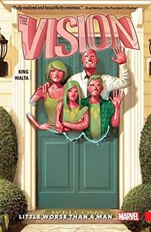 The Vision volume 1 digital comic only £6.44 on Amazon