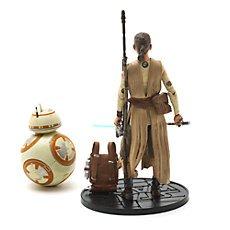 Star Wars 6'' Elite Series Die-Cast Figures, Rey with Lightsaber and BB-8 - £15.95 delivered @ Disney Store