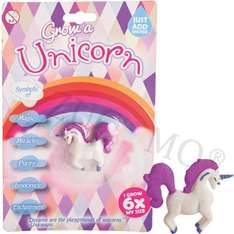 Grow your own unicorn - grows to 6 x original size ideal stocking filler £4.89 delivered @ eBay sold by gadget.monster