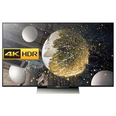 """Sony Bravia 55XD8005 LED HDR 4K Ultra HD Android TV, 55"""" With Youview/Freeview HD, Playstation Now & Silver Slate Design £949 @ John Lewis"""