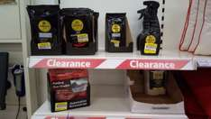 simoniz car cleaners, polish etc reduced to clear at tesco LEIGH STORE from £1