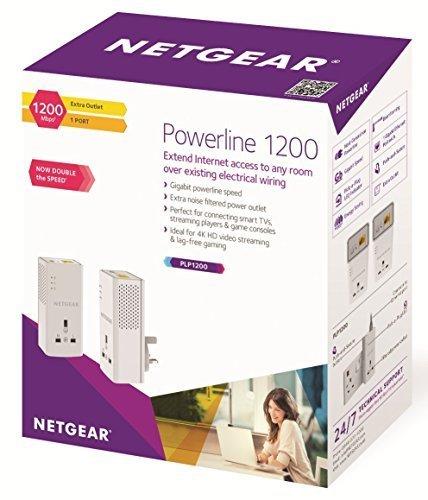 Netgear 1200 Mbps Gigabit pass through power line adapter - Twin Pack @ Amazon for £44.99