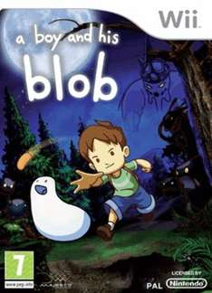 A Boy and His Blob (Nintendo Wii) (Compatible with Wii U) - £15.78 @ GAME