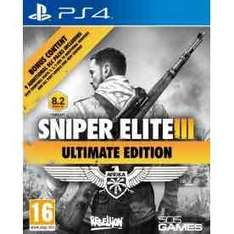Sniper elite III Ultimate Edition PS4 £21.99 @ 365 Games