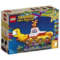 LEGO Ideas Yellow Submarine [21306] @ Tesco Direct 3 for 2 (£33.30 each if buying 3)