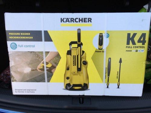 Karcher K4 Full Control Pressure Washer - RRP £219.99 - £100 - Instore @ Asda