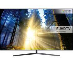 """SAMSUNG UE55KS8000 Smart 4k Ultra HD HDR 55"""" LED TV £1449  after discount coupon (plus possible  quidco) @ Currys"""