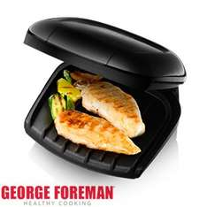 HomeBargains - George Foreman: Compact 2 Portion Fat Reducing Grill £12.99 (instore) - £16.48 for home delivery