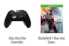 Buy Xbox 1 Elite controller and get Battlefield for £10 - £129.99 @ Argos