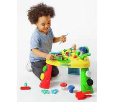 Chad Valley Dough table with 6 pots of dough & loads of accessories was £29.99 now £10.99 @ Argos