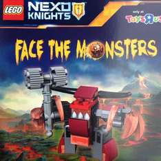 free lego nexo monster to build in toys r us