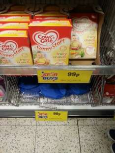 Cow and gate baby cereal 10 months+ 99p at Home bargins