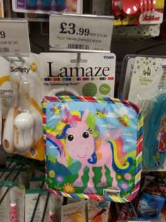 Lamaze soft play Tilly Twinklewings baby book £3.99 @ Home Bargains