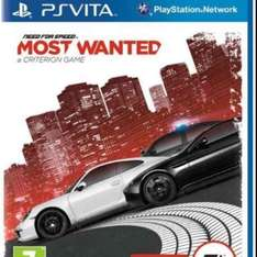 Need for Speed most wanted ps vita  £9.41 prime or £11.40 non prime Sold by Turbotrance and Fulfilled by Amazon