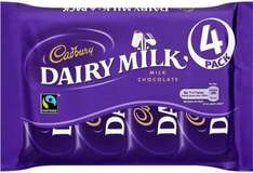 4x36g (144g)Cadbury Chocolate £1 at Asda, Sainsbury's, Ocado, Morrisons