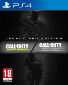 Call of Duty: Infinite Warfare Legacy Pro Edition & Exclusive Know Your Enemy Content - Pre order £109.99 Only at GAME