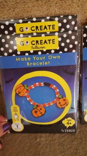 Halloween DIY  bracelets and necklaces 25p @ Tesco