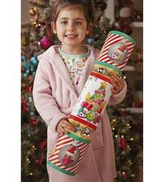 Giant Marvel & Shopkins Christmas Crackers £4 C+C with code @ The Works (also Packs of 6 Shopkins & Marvel Crackers £2.40)