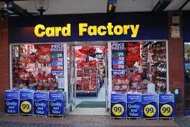 elf surveillance hanging sign card factory £1.49