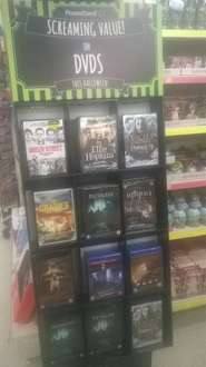 Various scream fest Screaming Value! scary movie + scream fest Screaming Value! scary season's DVD's for £1 each, at PoundLand