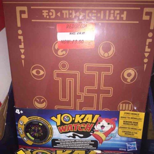 yo-Kai watch medallion book £3.50 @ Asda instore - Dewsbury